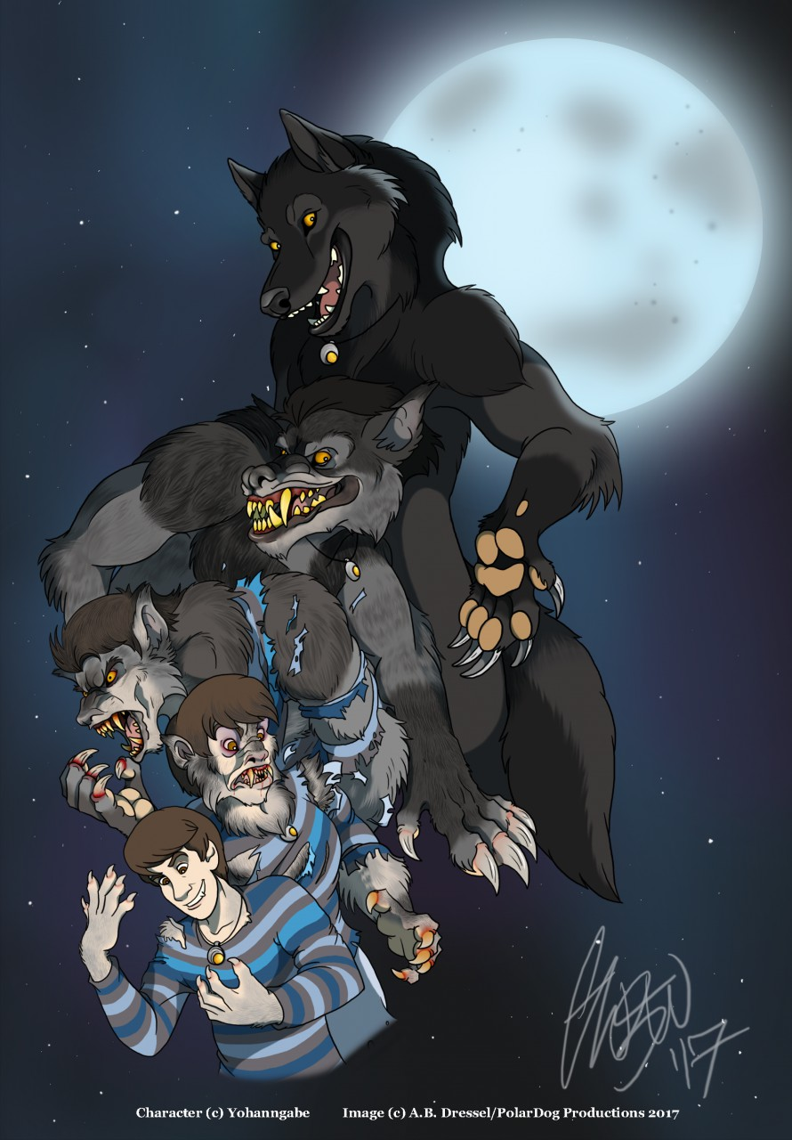 Full moon, full werewolf !