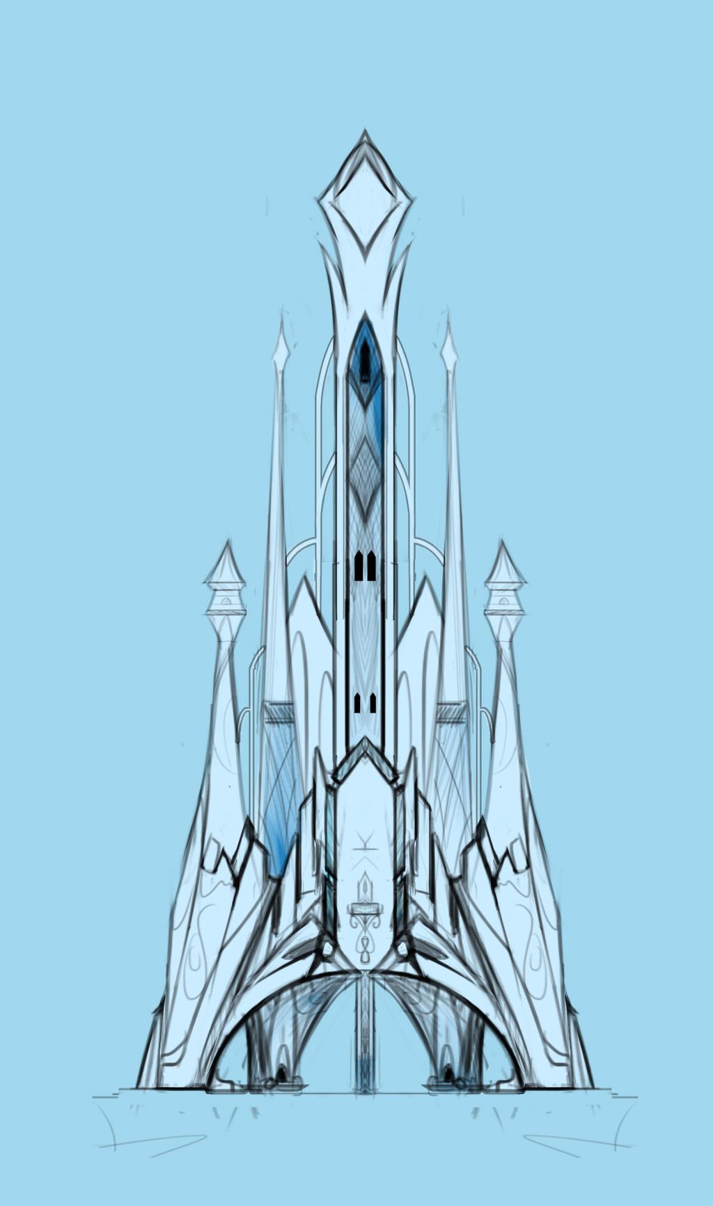 Crystal empire castle