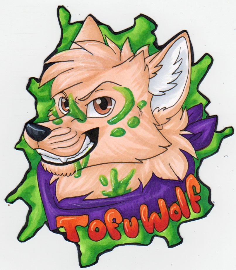 BLFC badge - Tofuwolf