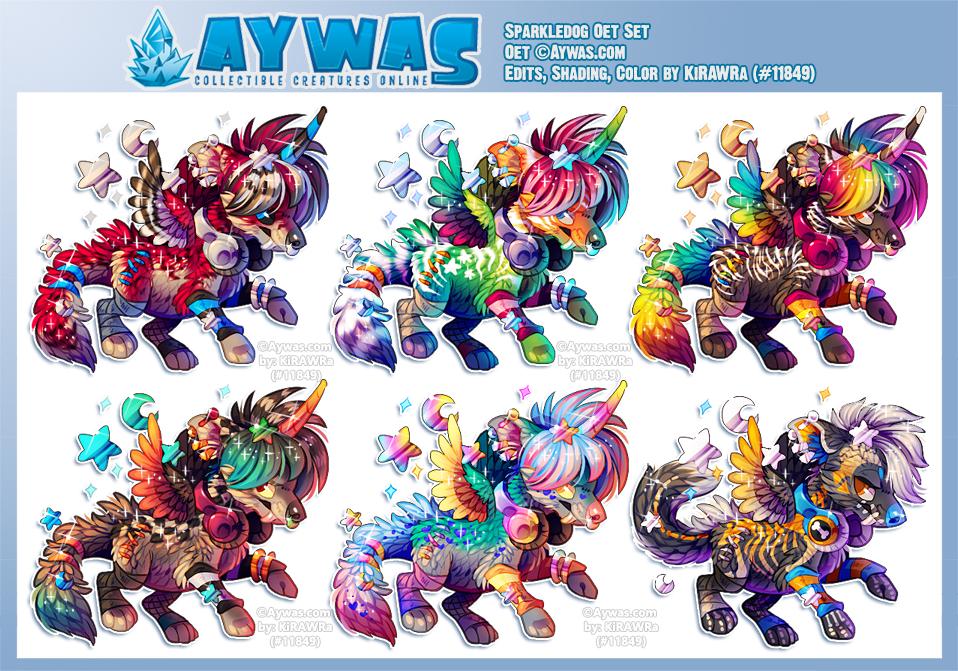 Aywas: Sparkledog Oet Set