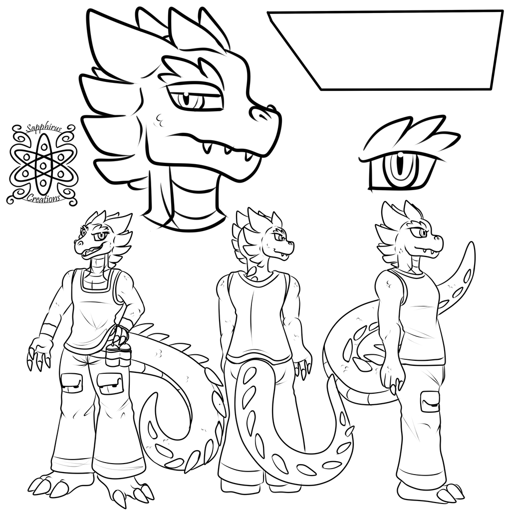 Shock +Character Reference Commission WIP+
