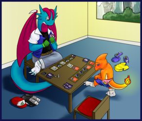 Strip Pokermon - by imperfectflame
