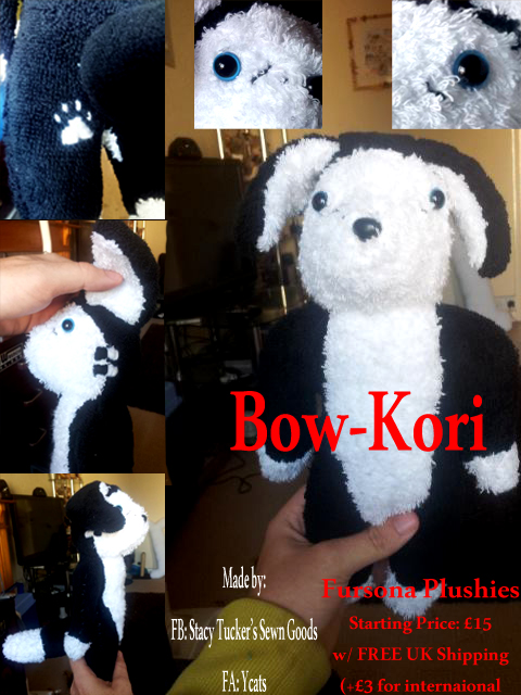 Most recent image: Fursona Plushie: Bow-Kori