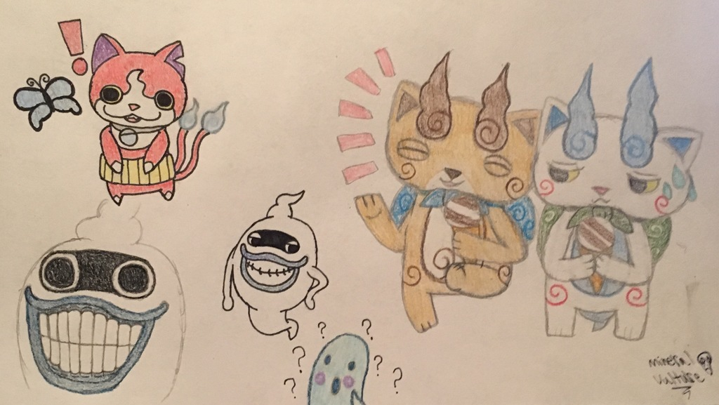 Yokai Watch Doodles