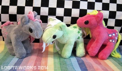 Mini Earth Pony Plushies for Sale