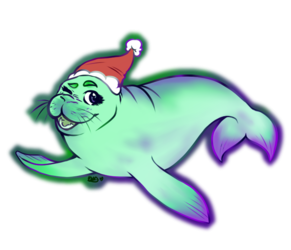 Tinsel the Manatee