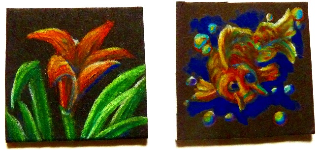Cheerful Art Magnets