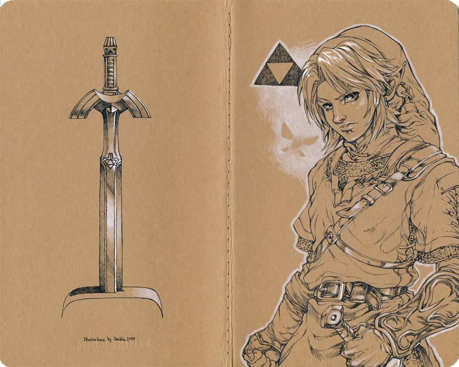 Legend of Zelda: Link and Navi