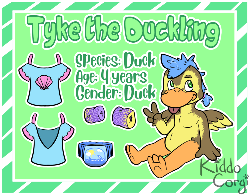 [P] Tyke the Duckling