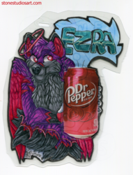 Ezra Drink Badge - AC2018