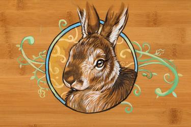 Swirly Bunny Box