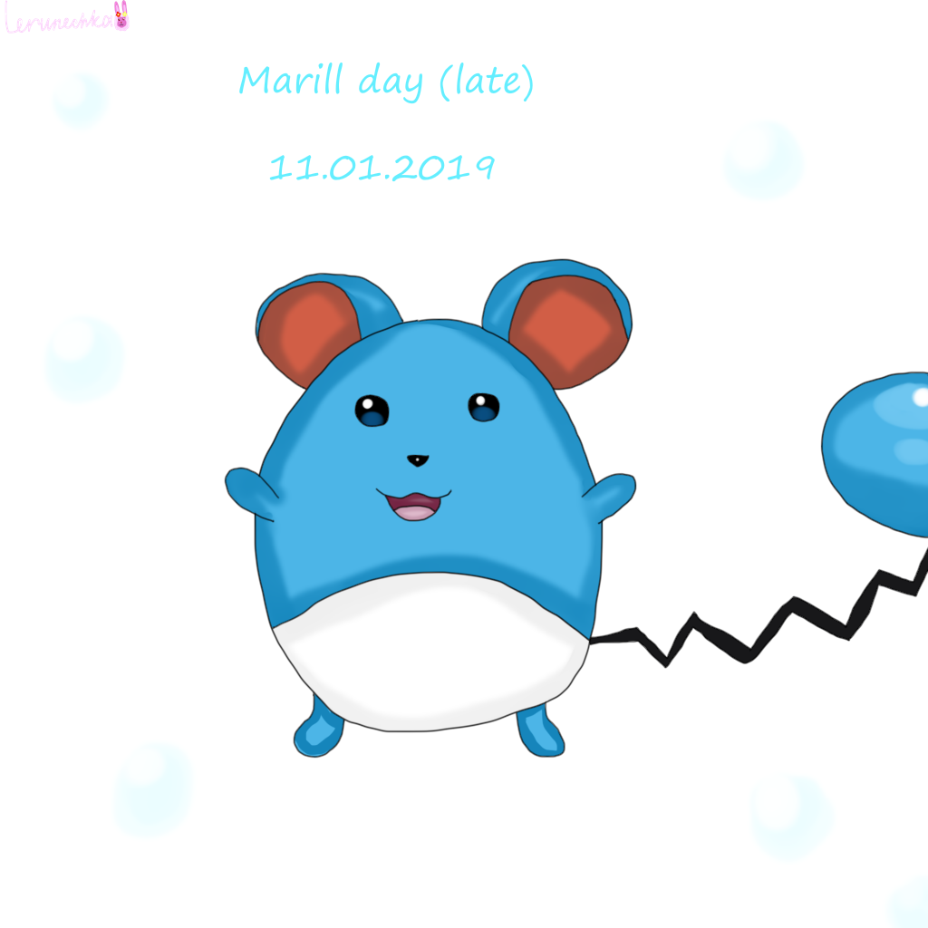 Marill day (late)
