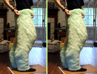Boi's Suit WIP - Look at Those Legs!