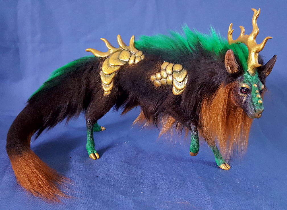Most recent image: Gold Scaled Forest Spirit FOR SALE