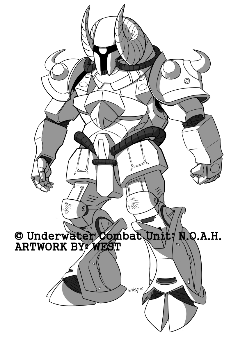 Underwater Combat Unit: N.O.A.H. - A-11 Aries