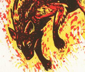Feuerwolf