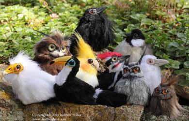 Bird Critters, July Batch