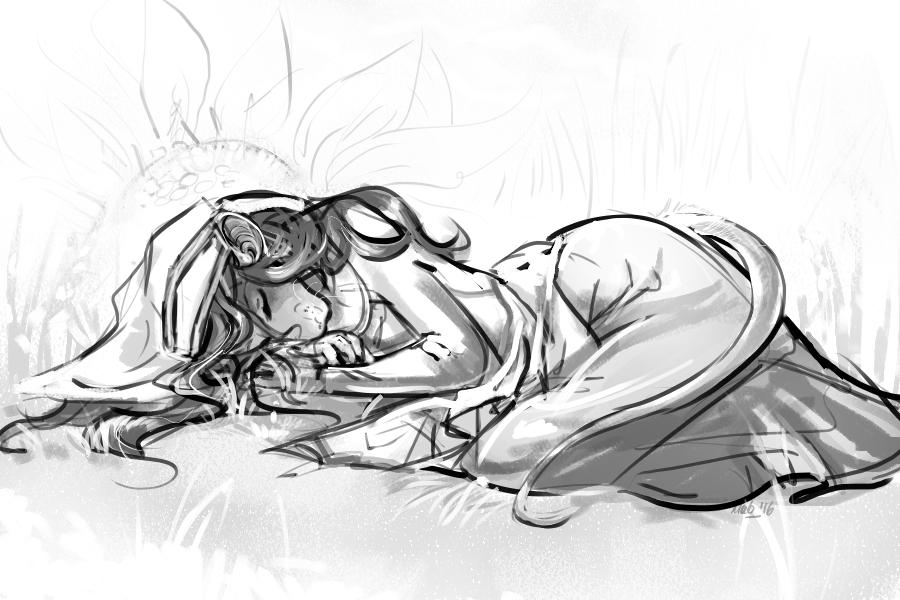 Agnes - Ink Sketch