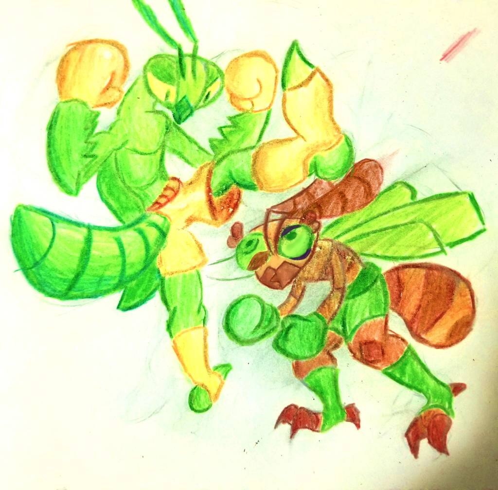 MANT VS ANT