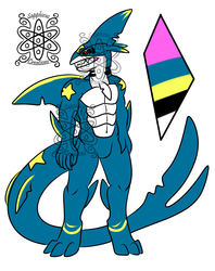Male Sharpedo +Design+ (SOLD)