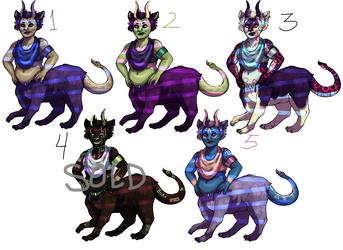[adoptables] chimera pack 1