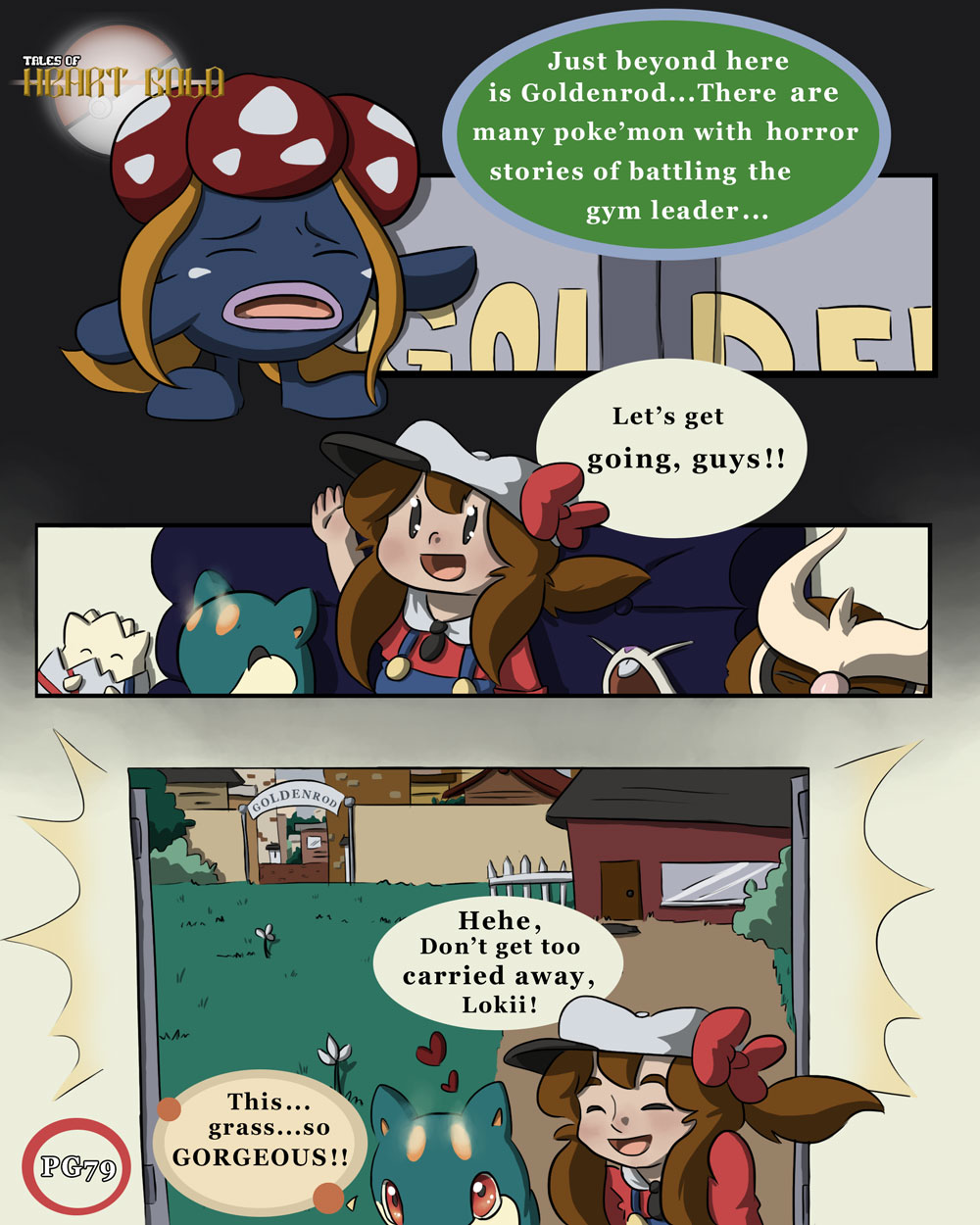 Big City PG3: Path to GoldenRod