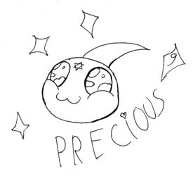 Inktober day 9: Precious