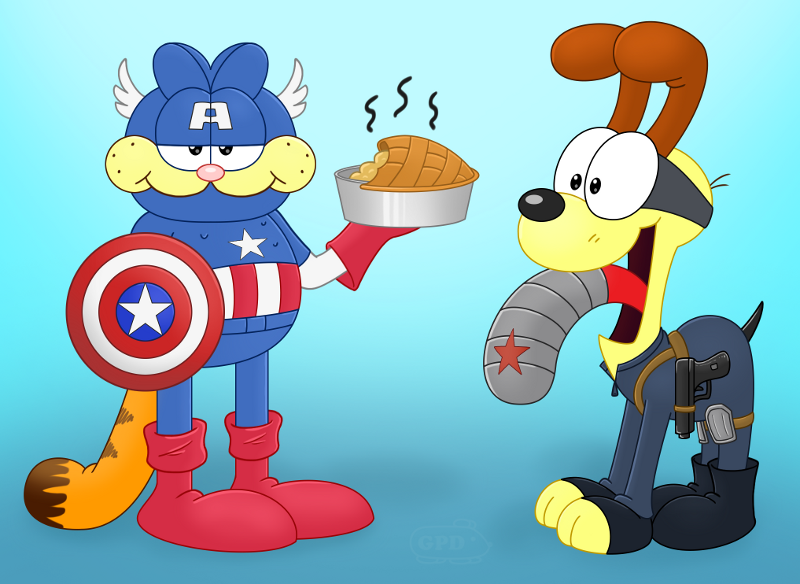 Captain Furmerica and the Winter Slobber