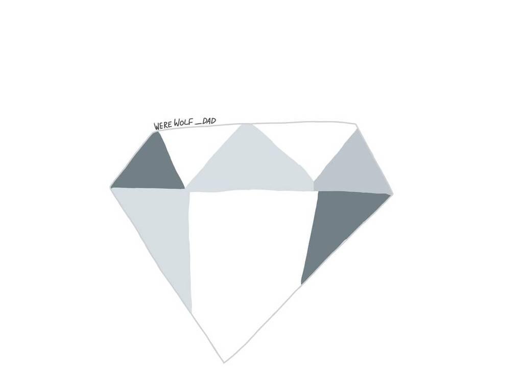 White Diamond's gemstone