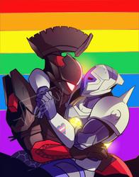 Prideful Titans (COMMISSION)
