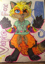 Kawaii Chibi: Vapin Fox