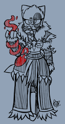 Serena, Sanctioned Blood Witch (Concept Draft)