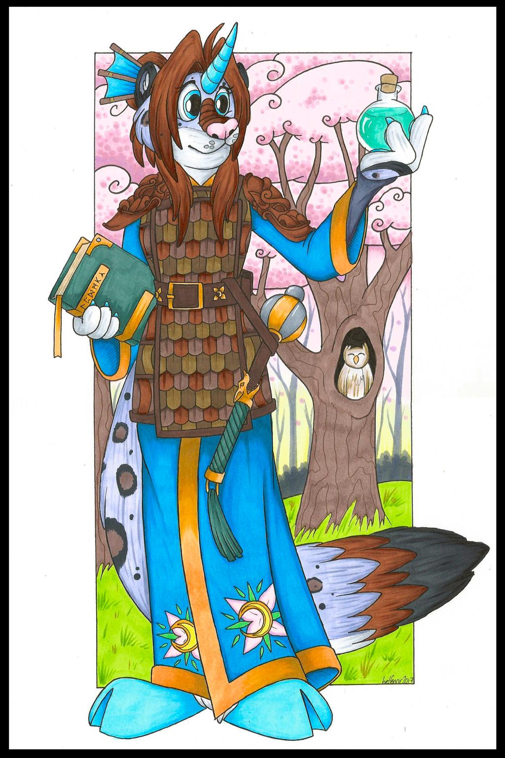 Ahna Azurehorn, Hyouki Alchemist