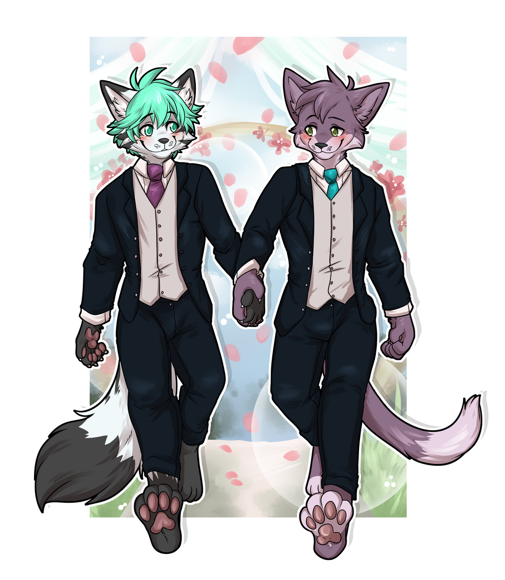 Big Gay Cat Wedding