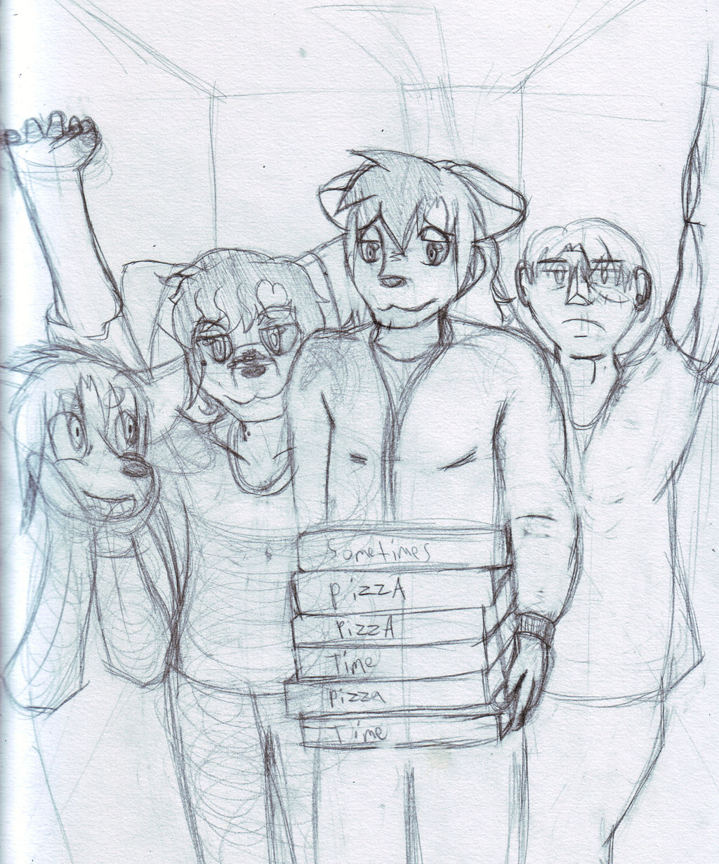 Most recent image: Squad Prompt- Pizza Delivery