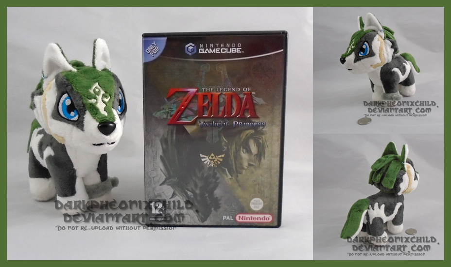 Chibi Wolf Link SOLD