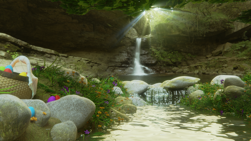 Creek of Bunny - Landscape