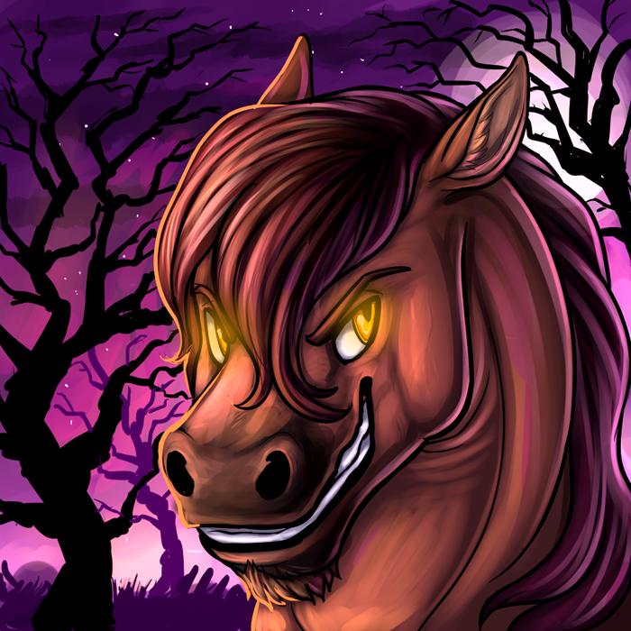 Autumn Bolt Halloween Icon by Saruki