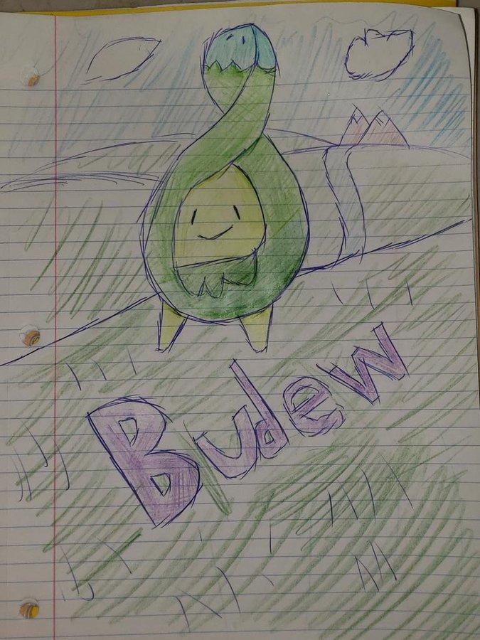 Budew Sketch