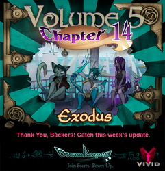 Volume 5 page 84 update announcement