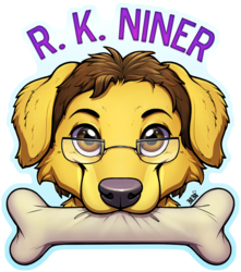 R. K. Niner Chomp Badge