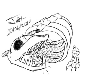 Spoopy Challenge Day 24: Skeleton