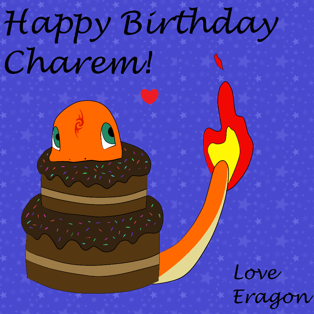 Charmander's Conniving Cakeplan - by EragonEater