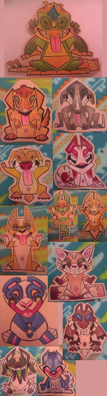 Tiki Badges