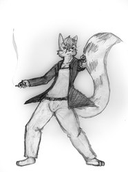 [Old Art] Action kendall by Silver R Wolfe