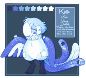 Kaito Ref (Birdfolk) Closed Species