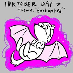 "Inktober Day 7: ""Enchanted"""