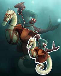 [OPEN] Shark Rider + Seahorse Steed