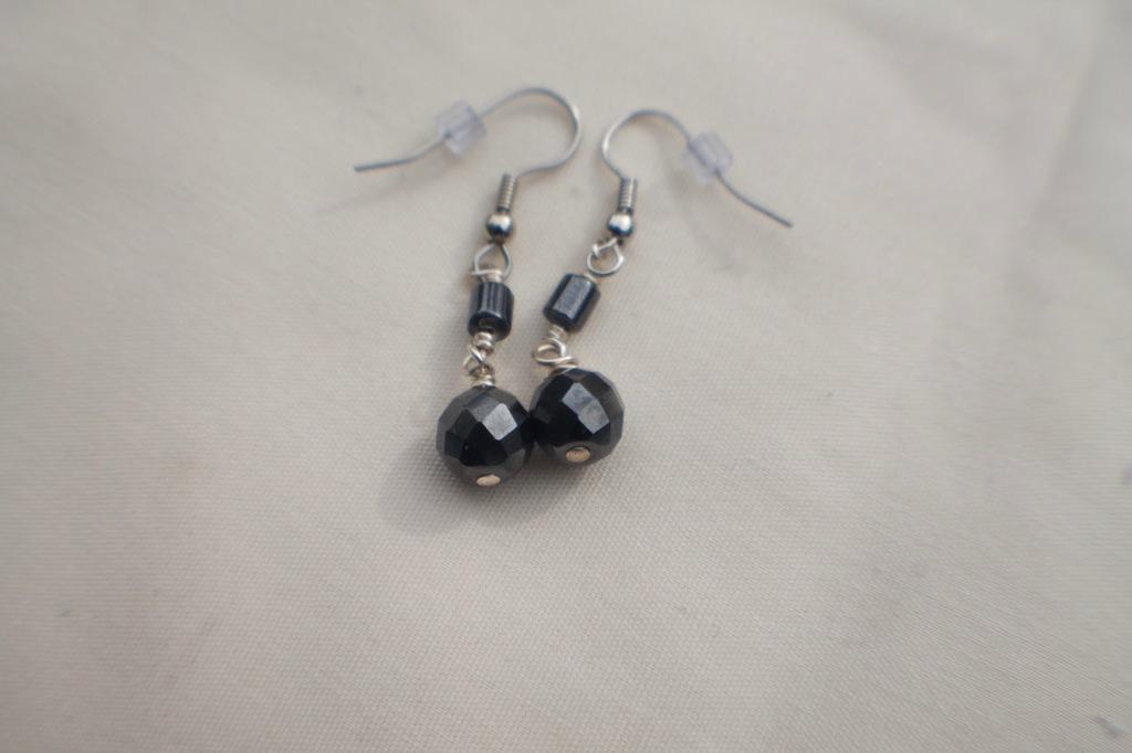 Magnetic Hematite Earrings