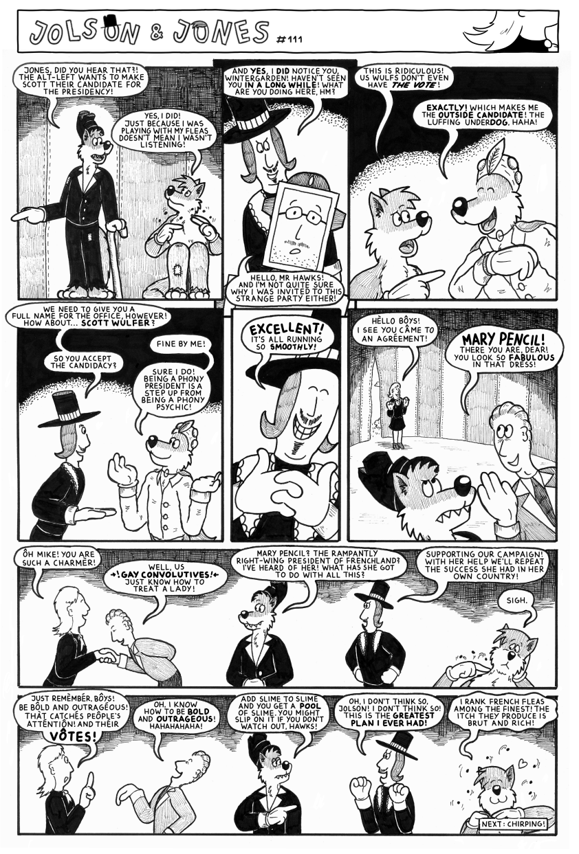 Jolson & Jones #111 - Always Room For One More